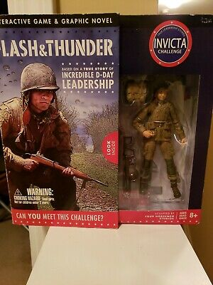 Flash and Thunder Graphic Novel And Interactive D-Day Game INVICTA Challenge