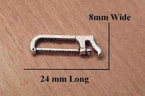 1/12, dolls house miniature Hacksaw / Hack Saw for tool box Tools DIY BN LGW