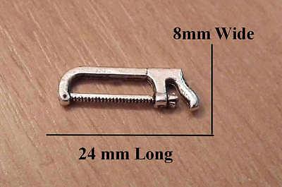 1//12 Casa de Muñecas en Miniatura metales//Sierra Para Caja De Herramientas Herramientas Hágalo usted mismo Shed lgw
