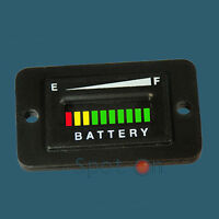 Pro12-48r ™ Range Vdc Golf Cart Battery Indicator - Rectangular