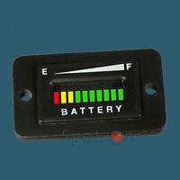 Pro12-48r ™ Range Vdc Golf Cart Battery Indicator - Rectangular