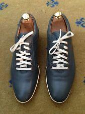 John Lobb Men's Grey Leather Shoes UK 7 US 8 EU 41 Drivers Trainers Sneakers