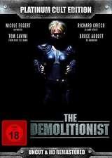 THE DEMOLITIONIST - UNCUT LIMITED PLATINUM CULT EDITION Richard Grieco DVD Box