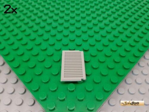 LEGO® 2Stk Fensterladen Fenster 1x2x3 alt-hellgrau 3856