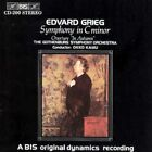 Grieg: Symphony in C minor; In Autumn (CD, Mar-1994, BIS (Sweden))