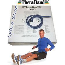 TheraBand TUBO ELASTICO BLU 2,5 mt Extra Resistente Tubing Pilates Thera Band