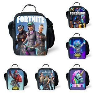 Fortnite Fort Nite Fortnight Game Lunch box School Bag Lunch Bag Battle Royale