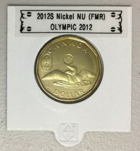 BU directly from mint roll CANADA 2012 New 1$ LUCKY LOONIE Olympic 2012