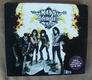 KISS-Alive-35-2009-Concert-Online-OOP-Ltd-Edition-CD-Little-Rock-AR-10-29-10TRK