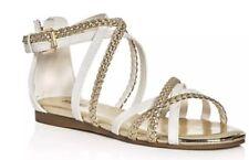 c5e1ff5dba item 3 NIB Girls Sz 2 MK MICHAEL KORS Demi Ayla -888 White Gold Strappy Sandals  Shoes -NIB Girls Sz 2 MK MICHAEL KORS Demi Ayla -888 White Gold Strappy ...