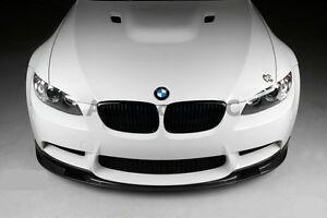 FRP-FIBER-GLASS-3D-Style-Front-Lip-Splitter-Fit-For-07-11-BMW-E90-E92-E93-M3