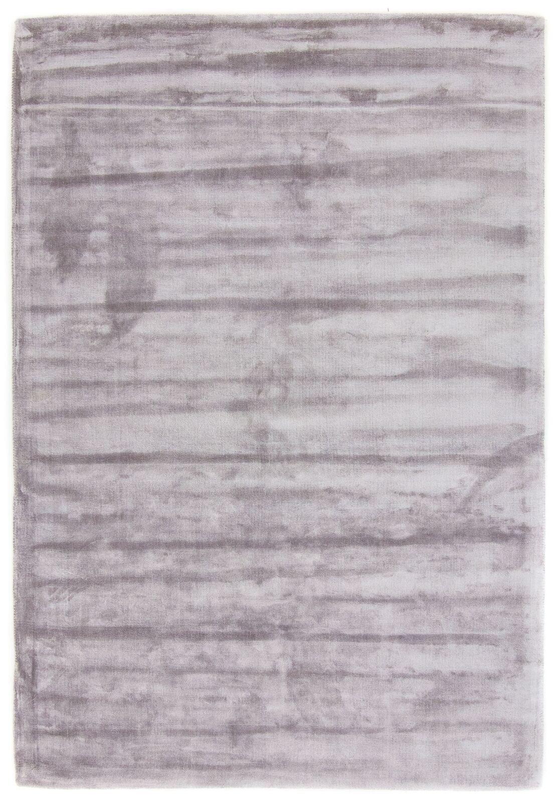 Carpetfine  Visconti Lily Teppich Silber - - - Einfarbig 26d7db