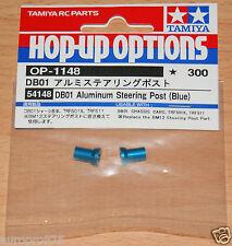 Tamiya 54148 DB01 Aluminum Steering Post (Blue) (TRF511/TRF503/DB01R/DB01RR) NIP