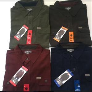 Eddie-Bauer-Men-s-Crosscut-Cord-Comfortable-Layering-Piece-Corduroy-Shirt-VRYT