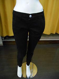 Split Skinny Pam Mod due Nero Donna Pantalone 09090 new Col prende w0n1qPWHp