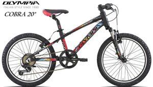 Dettagli Su Bici Bicicletta Olympia Cobra 20 Telaio Alluminio 6v Front Ammortizzata Offerta