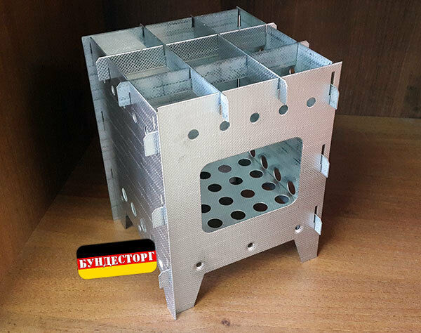 Outdoor Portable Camping Stove, Russian  factory assembly, hard steel AiSi +Pouch  online store