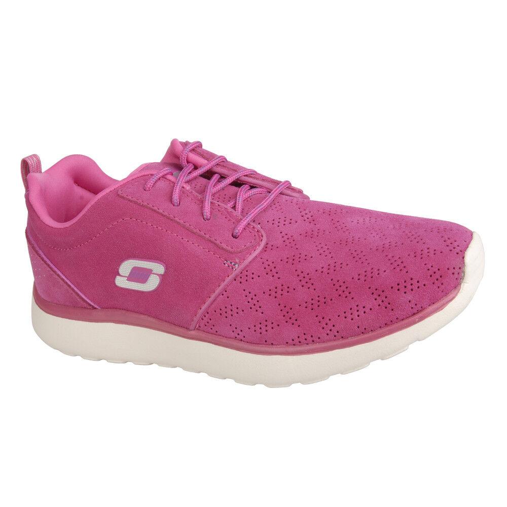 NEW SKECHERS Women Sneakers Trainer Memory Foam COUNTERPART EVERYTHING NICE Pink