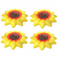 Swimline Giant Inflatable 72 Sunflower Island Swimming Pool Raft Float (4 Pack) on sale