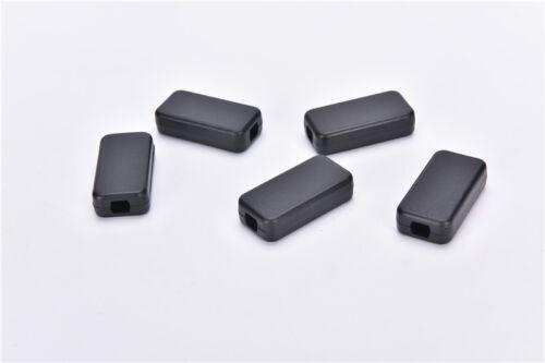 5pcs Electric Plastic Black Waterproof Case Project Junction Box 40*20*11mm  LU