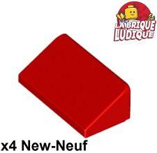 Lego - 4x slope brique pente inclinée 30 1x2x2/3 rouge/red 85984 NEUF