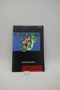 SUPER-MARIO-WORLD-manuale-di-istruzioni-per-SUPER-NES-SUPERNINTENDO-SNES