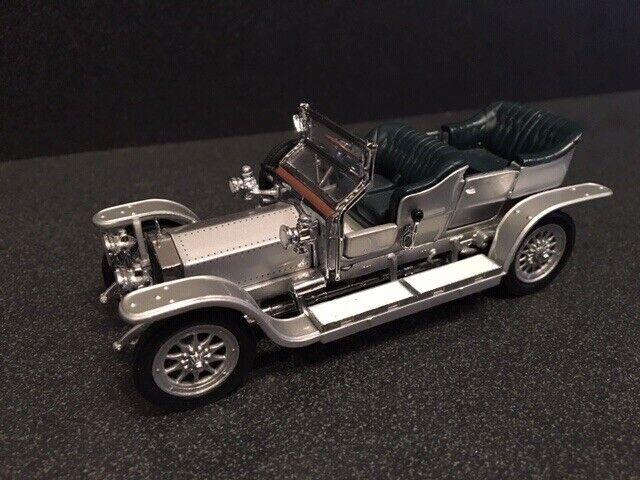 Precio al por mayor y calidad confiable. 1907 Rolls Royce Royce Royce plata Ghost-Franklin Mint 1 24 Diecast Modelo  ventas directas de fábrica