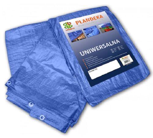 3m² a 200m² TELONE tessuto copertone telone con occhielli IMPERMEABILE 60 grammi//m2