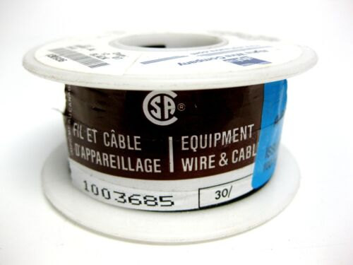 Hookup Wire NEW 26AWG: 7//34 Alpha Wire 3049 BK005 PVC,3-100 FT Black