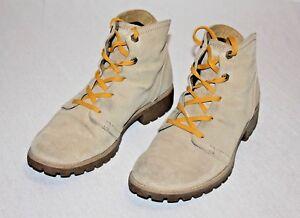 Details zu Timberland EARTHKEEPERS Damen SUPER Boots SCHICKE Schuhe Beige TOP!!! Gr.41