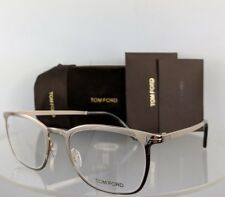 96bfbb163a Brand New Authentic Tom Ford Eyeglasses FT TF 5464 028 51mm Shiny Gold Frame