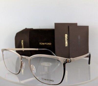 Eyeglasses Tom Ford FT 5464 028 Shiny Rose Gold Dark Havana Temple Tips