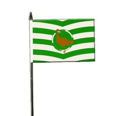 """Wiltshire New County Small Hand Waving Flag 6/"""" x 4/"""""""