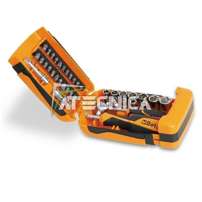 Set Mini Beta Tools 900 C39 kit Einsätze für Schraubendreher mit Ratsche mobil