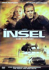 "DIE INSEL (""THE ISLAND"") / DVD - TOP-ZUSTAND"