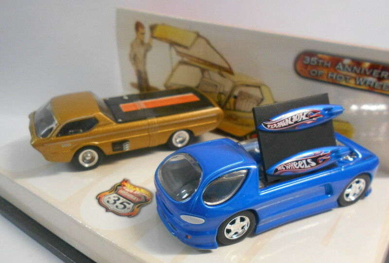 HOT WHEELS 1 64 Scale Diecast 7285 35TH ANNIVERSARY OF HOT WHEELS