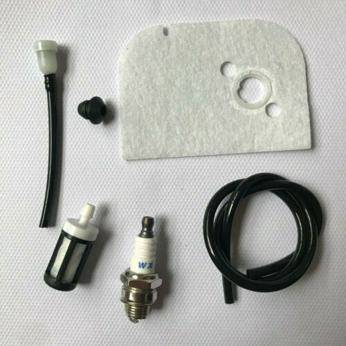 For Stihl 009 009L 010 011 Kit Air Filter Spark Plug Fuel Filter Fuel Line Hose