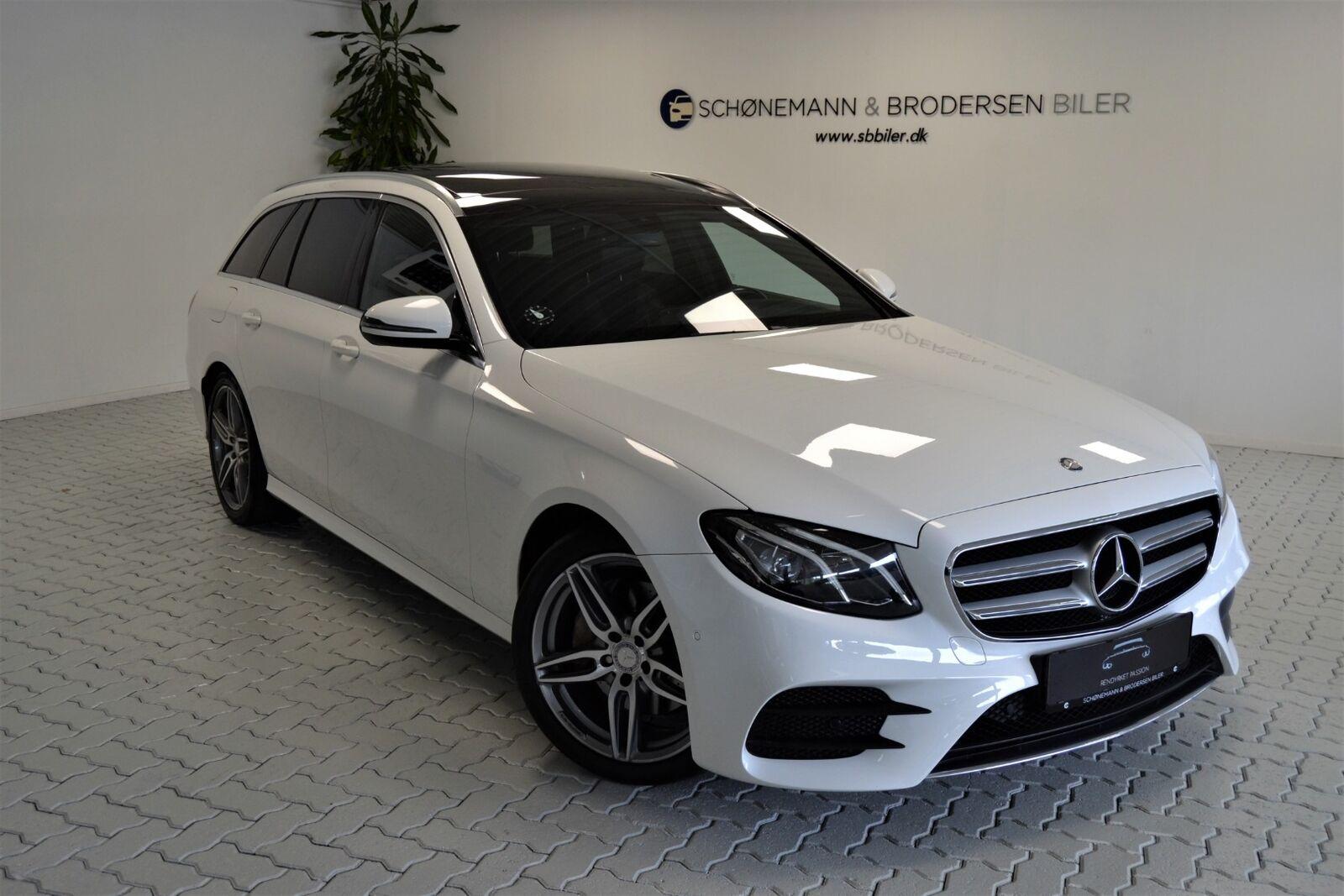 Mercedes E220 d 2,0 AMG Line stc. aut. 5d - 429.900 kr.