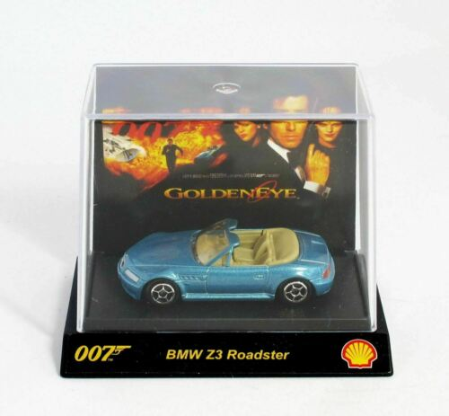 NEW /& BOXED James Bond 007 Collectable Car  Shell  BMW Z3 Roadster Goldeneye