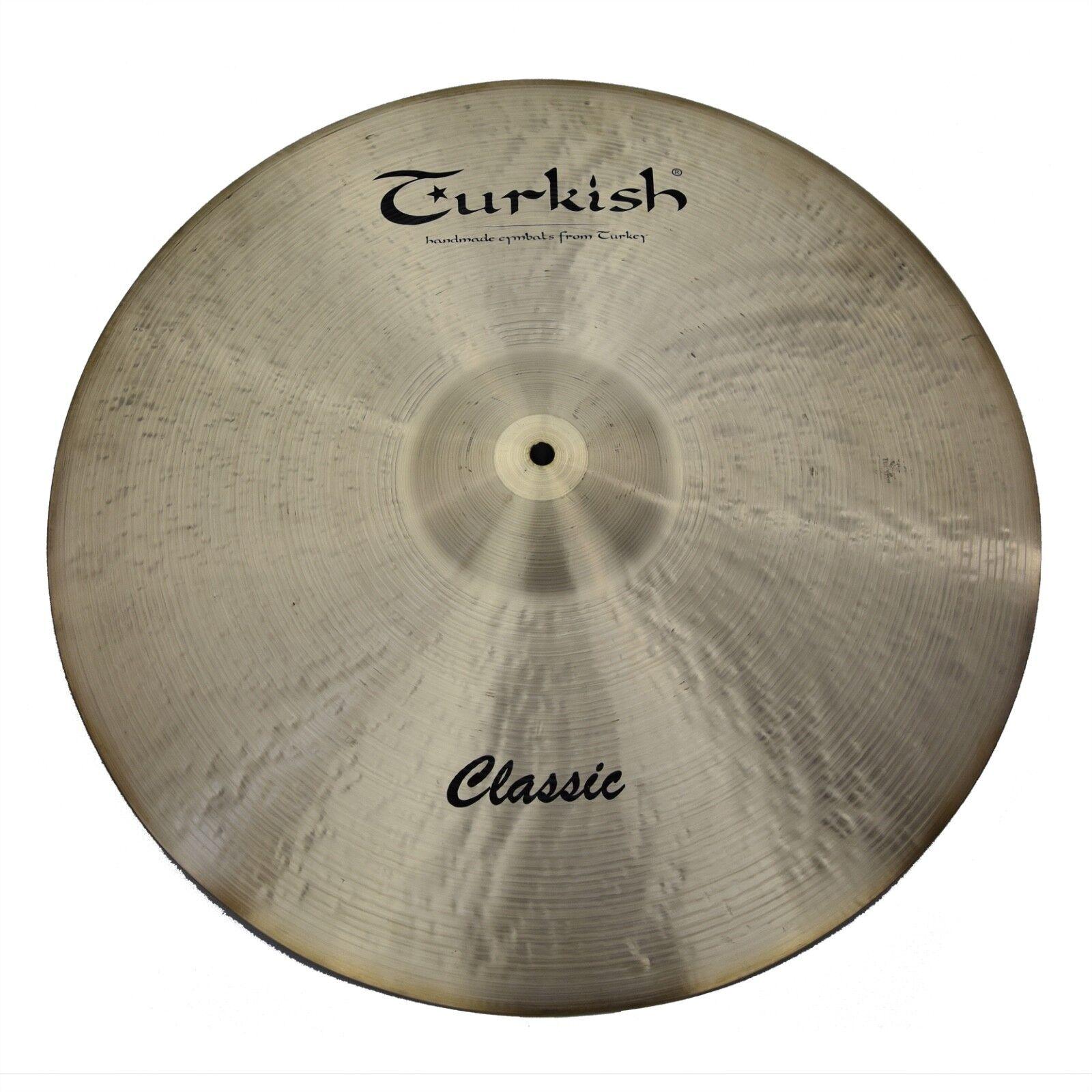 TURKISH CYMBALS cymbale Classic 22  Ride 3767g