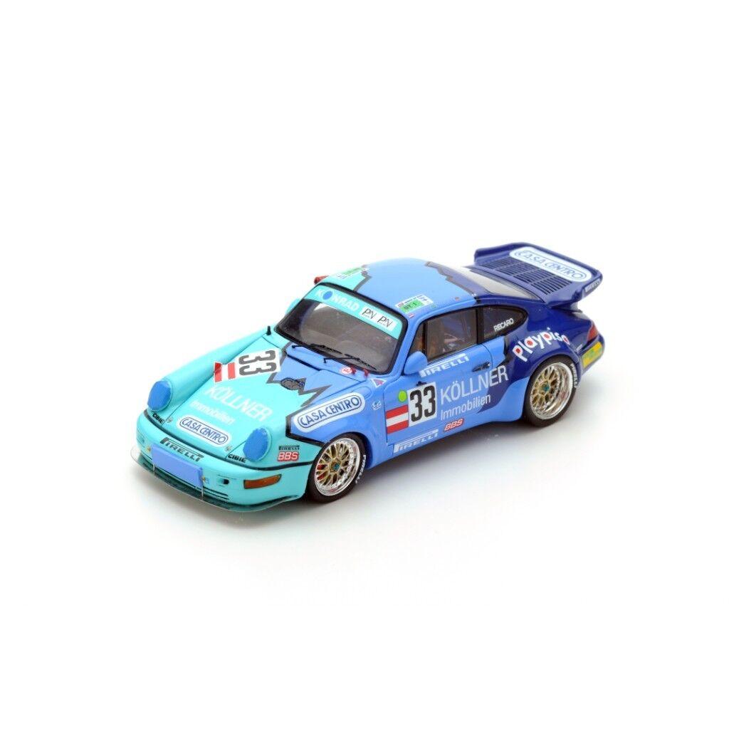 SPARK PORSCHE 911 Turbo  33 Le Mans 1994 Sommer - Konrad - Azevedo S4442 1 43