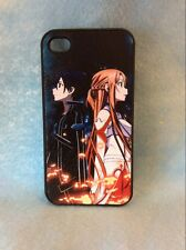 USA Seller Apple iPhone 4 & 4S Anime Phone case Cool sword art online SAO