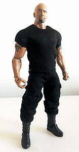 "FIGLot Black Tank Top for 7/"" Mattel Wresting Figures NOX-TK-B No tracking"