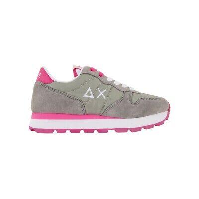 SUN68 scarpe donna sneaker Z19201 06 GRIGIO CHIARO ALLY SOLID NYLON PE19 | eBay