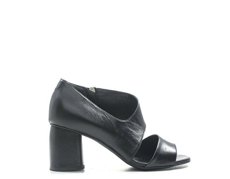 shoes PIERFRANCESCO VINCENTI women Sandali Alti  black Pelle naturale 1658-N