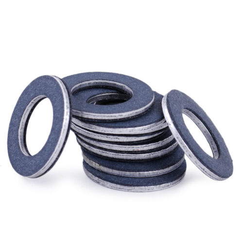 10x Auto Oil Drain Plug Washer Gasket Fit For Toyota Camry ...