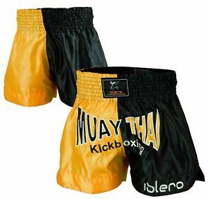 ISLERO Gabbia Lotta Muay Thai Pantaloncini MMA Grappling Kick Boxing Arti Marziali Gear