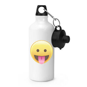 lingua-fuori-occhi-APERTO-EMOTICONS-SPORT-Drink-Bottiglia-acqua