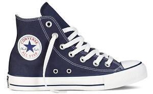 Détails sur Chaussures Converse All Star Hi Chuck Taylor Hautes Bleu Marine  M9622C Original