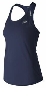 New-Balance-Women-039-s-Accelerate-Tank-V2-Navy